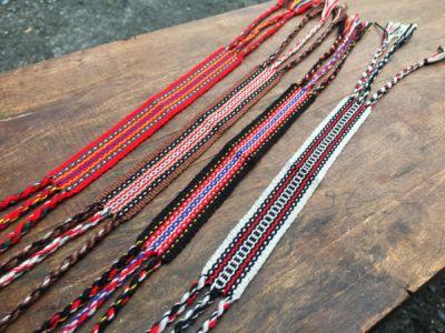花蓮原住民太魯閣族「原住民弓織出手帶」