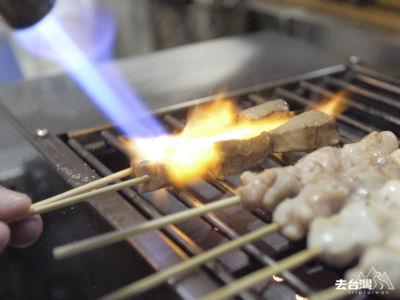 每一串串燒都燒得恰度好處,維持剛熟最嫩滑的狀態。