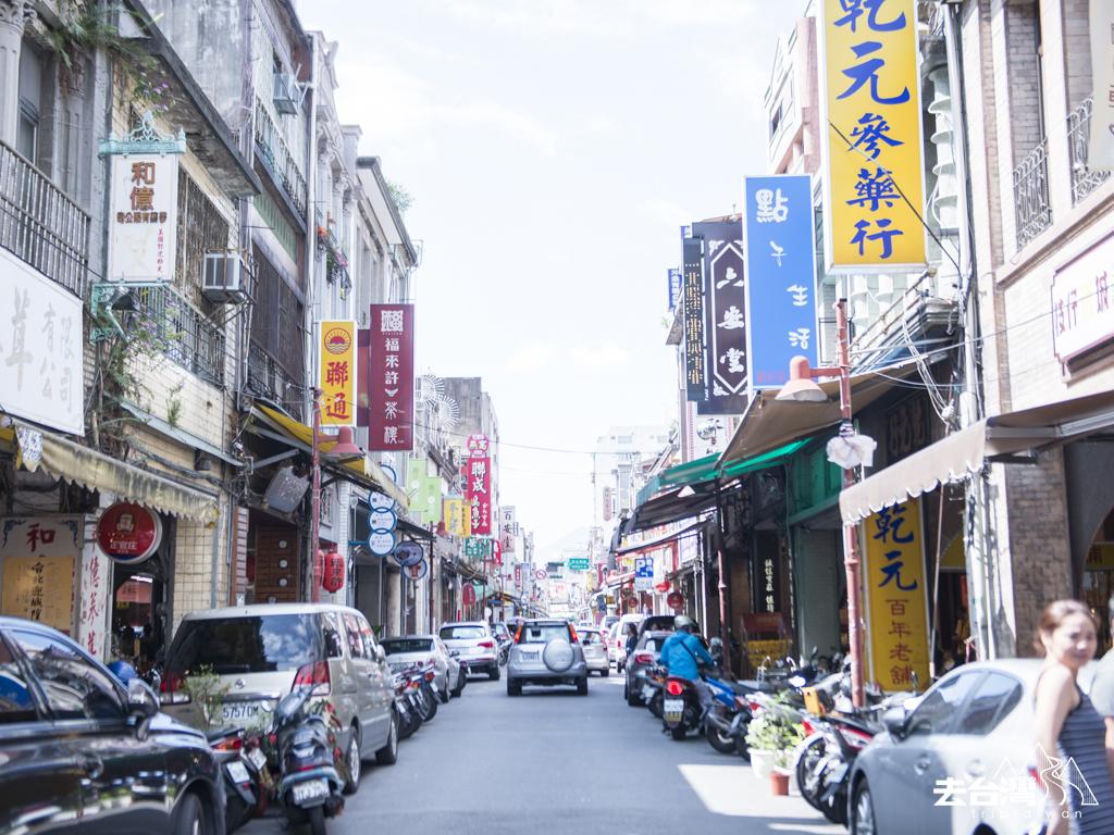 台北 大稻埕 廸化街