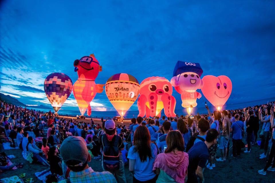 台東 熱氣球