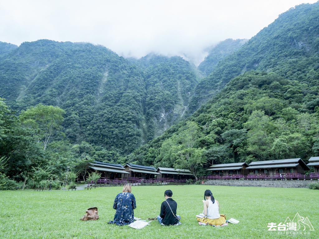 花蓮太魯閣 山月村