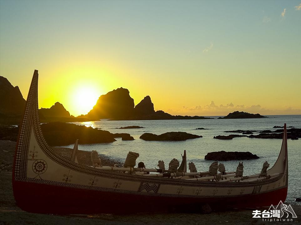 蘭嶼 拼版舟