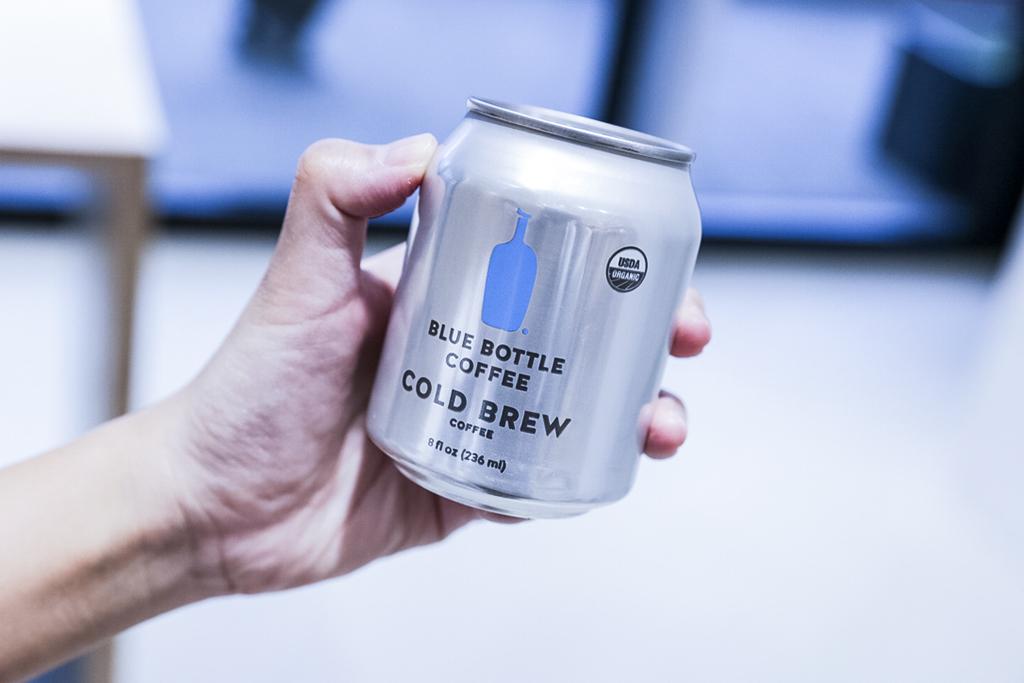 台北自由行 微風南山 Blue Bottle