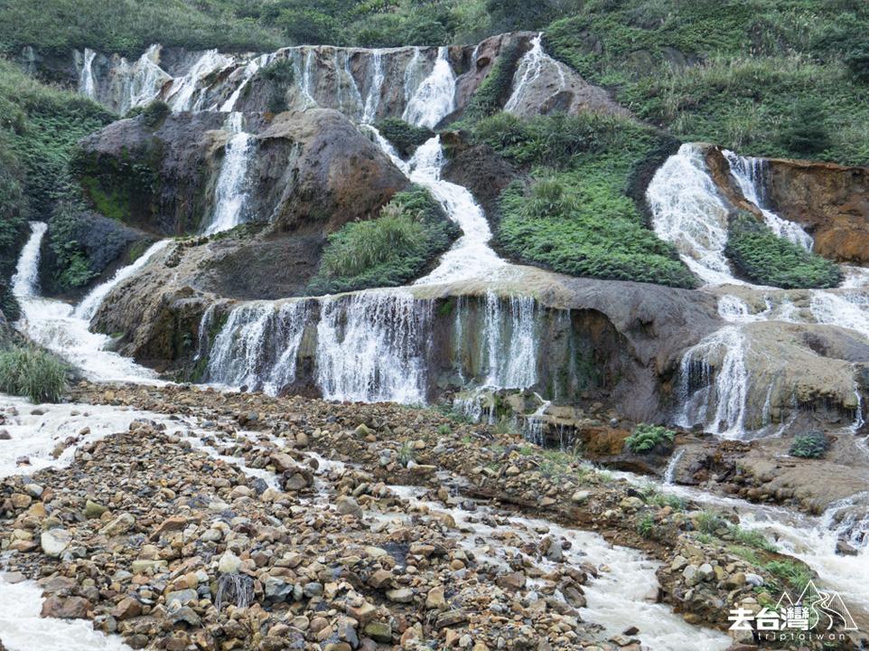 九份 金瓜石 景點 黃金瀑布