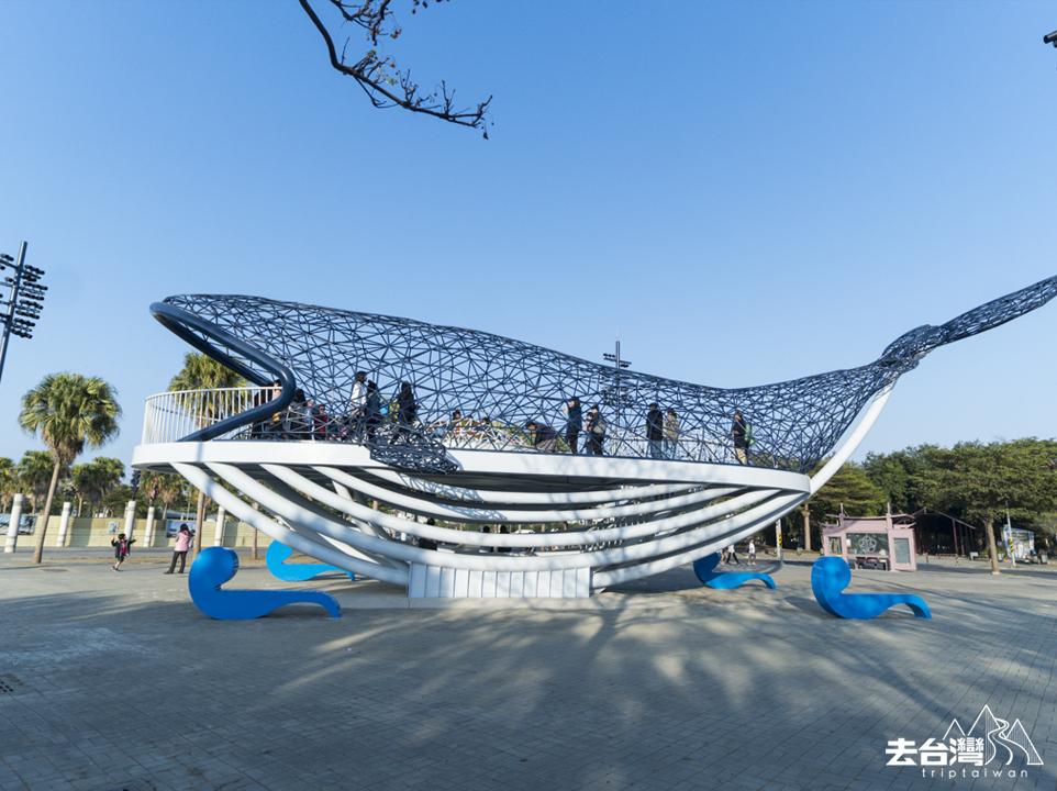 台南安平鯨魚 大魚的祝福