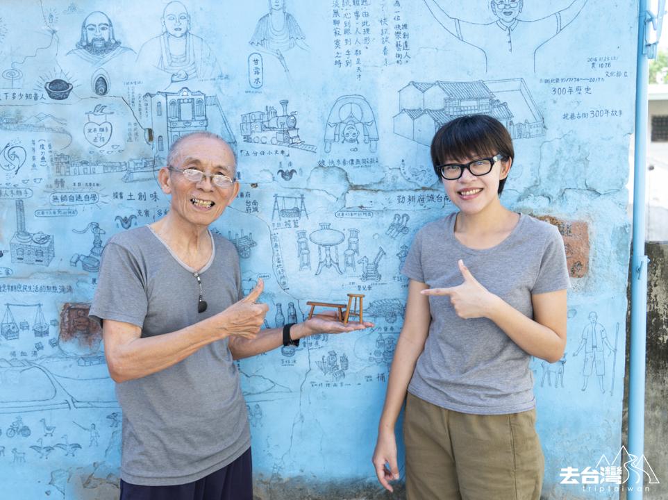 台南自由行 北巷老街老得木雕