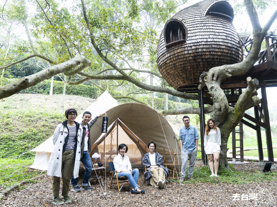 台北近郊 勤美學 台灣Glamping 台灣Camping 台北行山