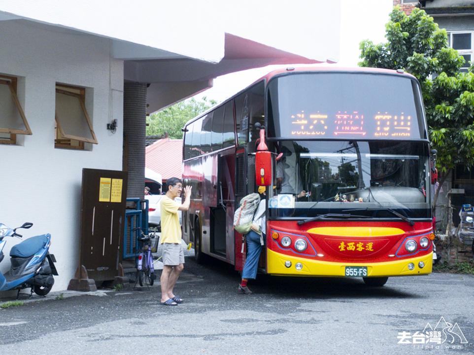 竹山行程 11 台西客運