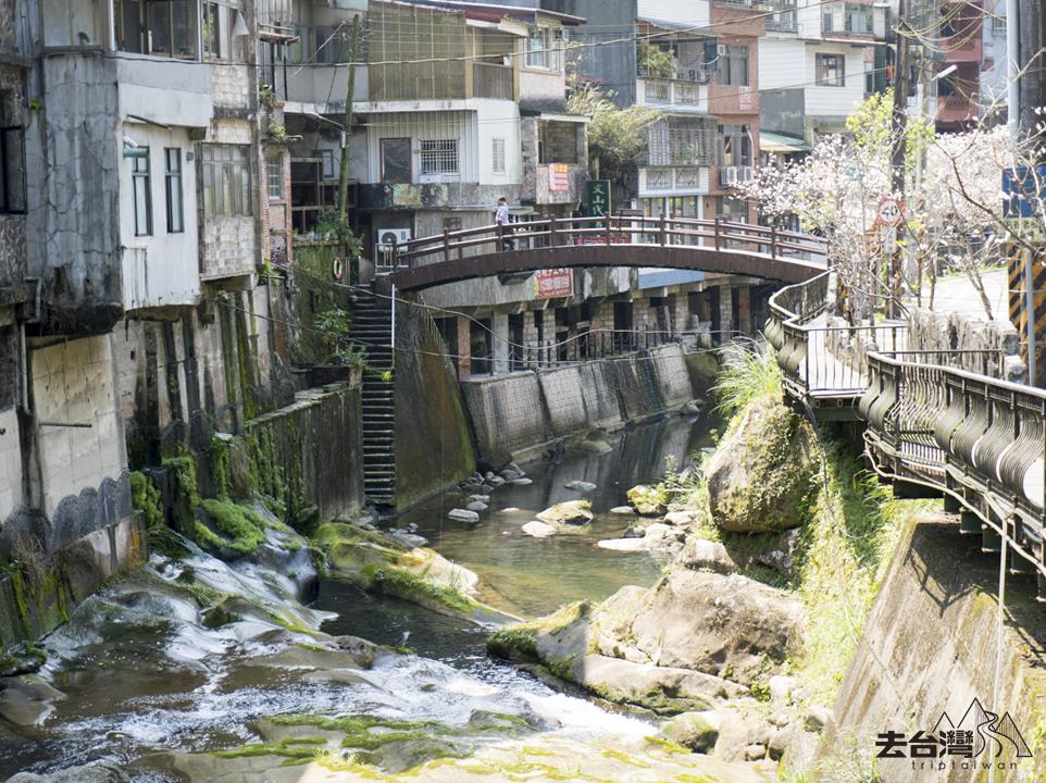 石碇 台北近郊 流水麵